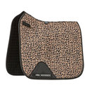Prime Leopard Dressage Saddle Pad - Brown Leopard