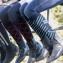 Ladies Sua Socks - Dark Blue/Turk