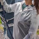 Transparent Waterproof Jacket Ladies