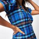 Abigail Tartan Check Mini Dress