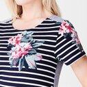 Riviera Print T Shirt Dress