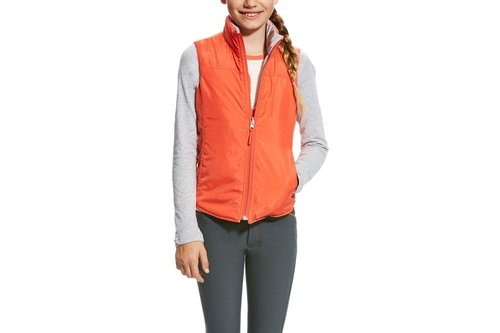 Emma Reversible Girls Gilet
