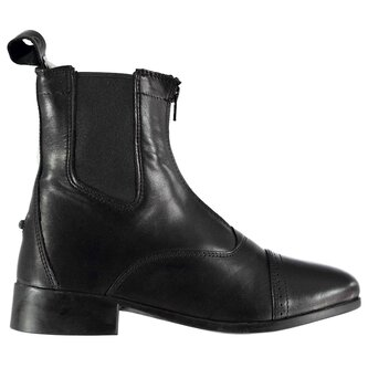 Ladies Elevation II Zip Paddock Boots - Black