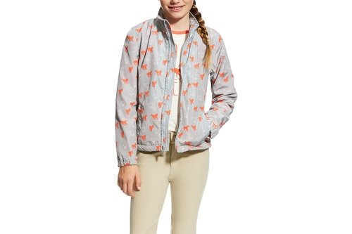 Laurel Girls Jacket - Coastal Grey
