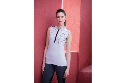 Flamboro Sleeveless Ladies Poloshirt