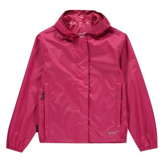 Packaway Junior Girls Waterproof Jacket