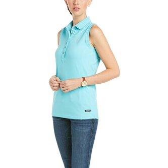 Prix 2 Sleeveless Polo Shirt Ladies