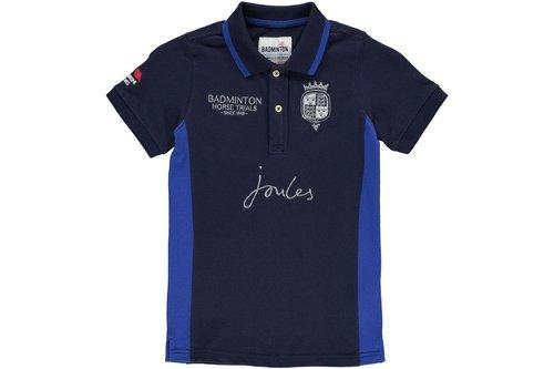Badminton Polo Shirt Junior Boys