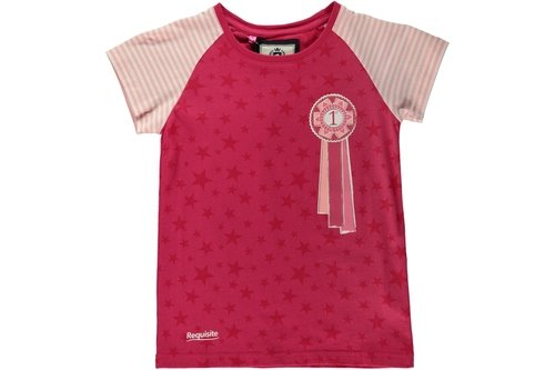 Girls Rosette T-Shirt