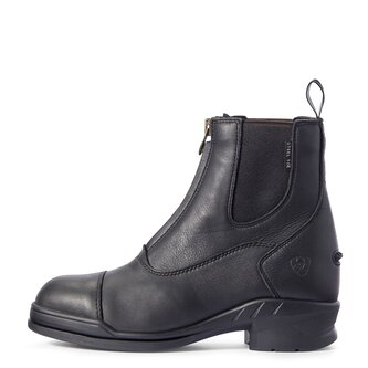Heritage IV Steel Toe Cap Zip Ladies Paddock Boots - Black