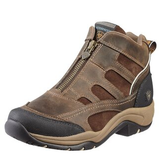 Terrain H20 Zip Ladies Boots - Distressed Brown