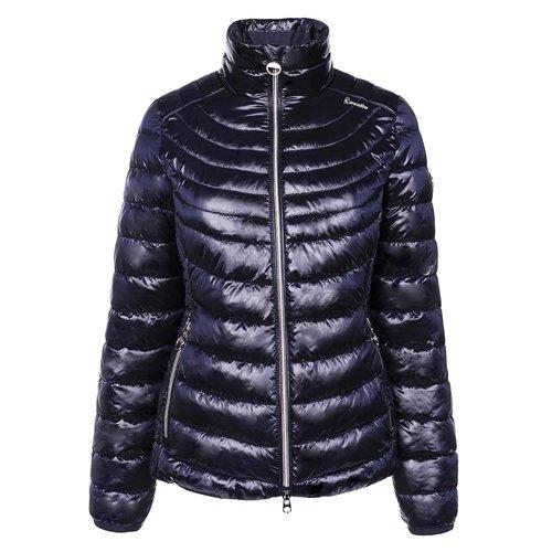 Ladies Sarabi Lightweight Quilted Jacket - Dark Blue