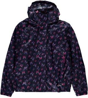 Packaway Junior Girls Waterproof Jacket