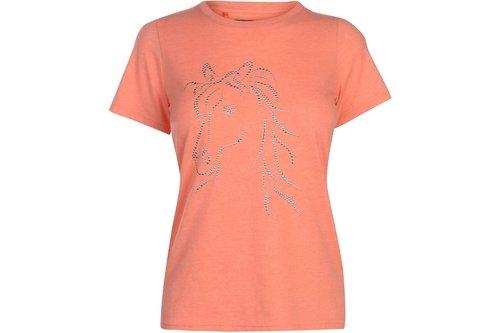 Sequin Horse T Shirt
