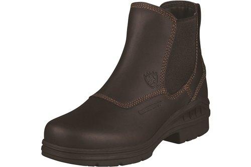 Barnyard Twin Gore H20 Ladies Boots - Dark Brown