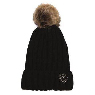 Wool Pom Pom Hat Ladies