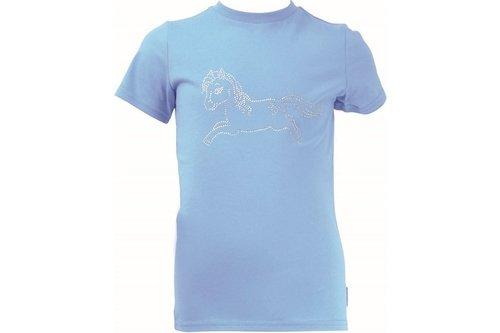 Little Rider Diamante Star in Show T Shirt