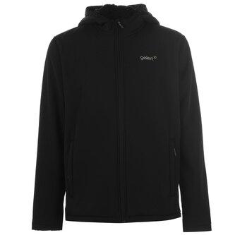 Softshell Hooded Jacket Mens