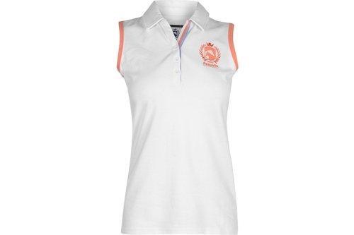 Sleeveless Polo Shirt Ladies