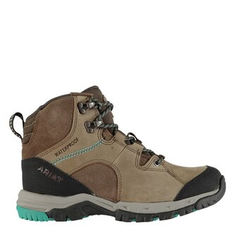 Skyline Mid Outdoor Ladies Waterproof Boots - Distressed Brown