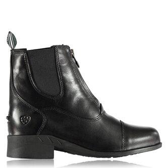 Devon IV Kids Paddock Boots - Black