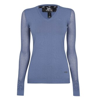 Ladies Performance Sweatshirt - Aviation