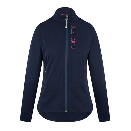 Ameta Zip Ladies Jacket - Navy