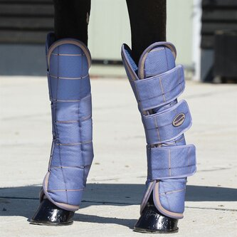 Wide Tab Long Travel Boots
