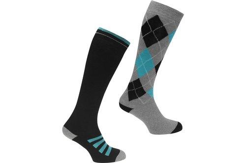 2 Pack Ridding Socks Mens