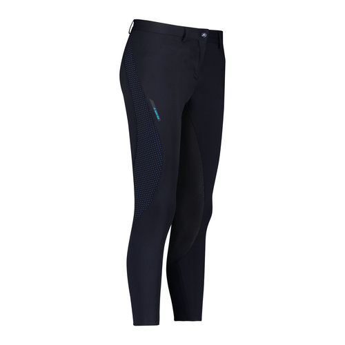 Candy Ride Full Grip Ladies Breeches - Navy