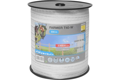 Farmer T40-W Tape Electric Fence