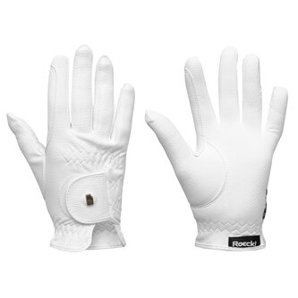 Grip Junior Gloves - White