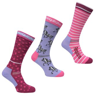 Requisite 3 Pack Junior Sock