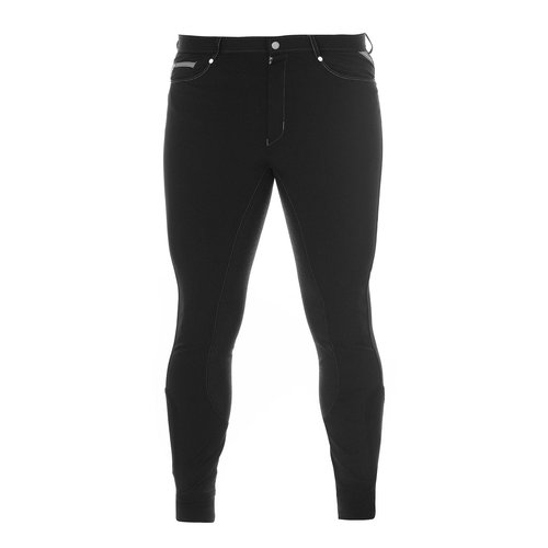 Active Full Grip Mens Jodhpurs - Black