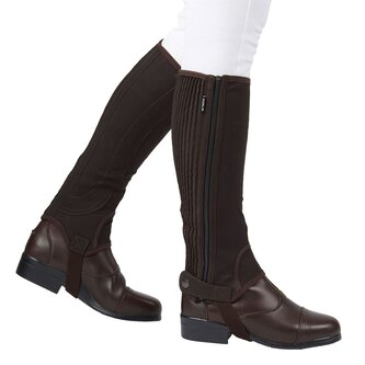 Easy Care Half Chaps II - Brown
