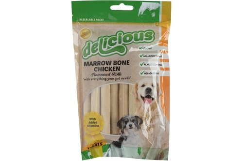 World of Pets Marrow Bone Chicken Flavoured Rolls