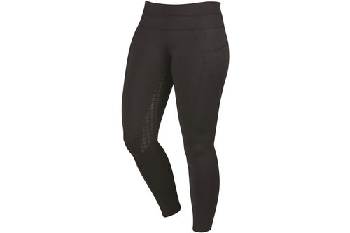 Performance Thermal Active Ladies Riding Tights - Black