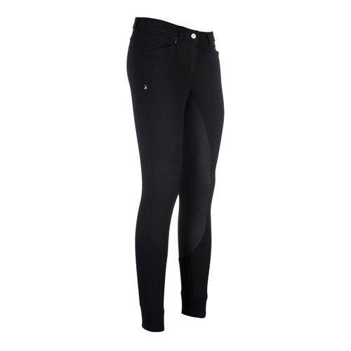 Carina Ladies Full Grip Breeches - Black