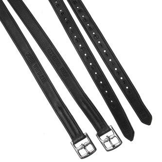 Stirrup Leathers - Black