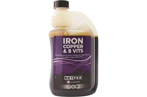 Iron, Copper and B Vits