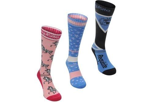 Socks 3 Pack Junior Girls