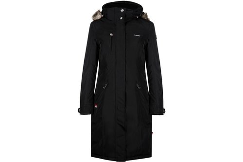 Ladonna Ladies Long Jacket - Black