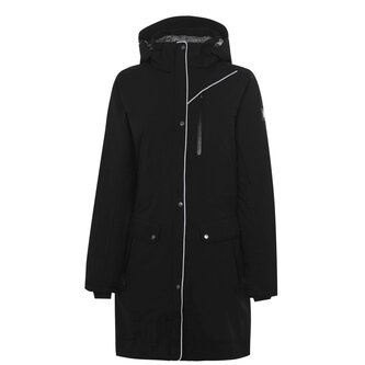 Ladies Tempest Waterproof Insulated Parka - Black