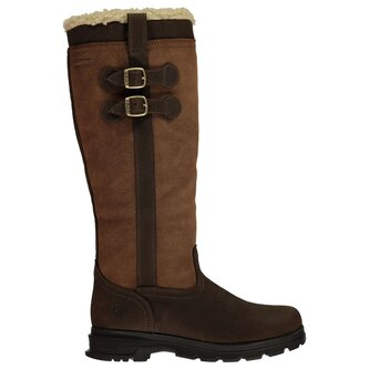 Eskdale Fur Waterproof Ladies Insulated Country Boots - Java