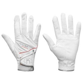 Madrid Gloves - White