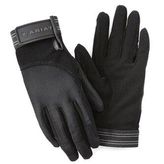 Air Grip Riding Gloves - Black