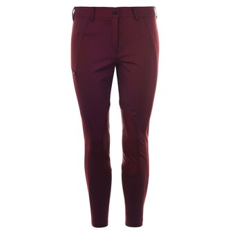 Ine Full Seat Grip Ladies Breeches - Bordeaux