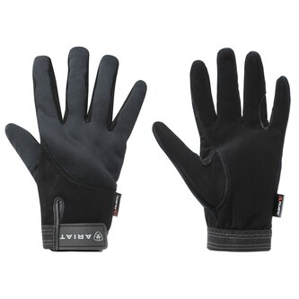 Insulated Tek Grip Gloves - Black