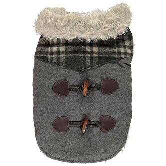 Fur Fleece Dog Coat