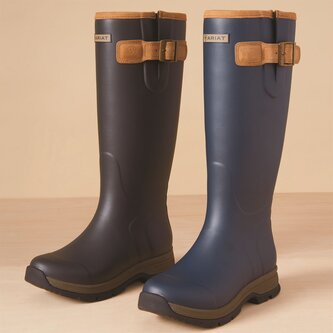 Burford Ladies Wellington Boots - Navy